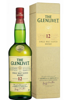 Glenlivet Single Malt 12 Anos Litro