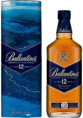 Ballantine's 12 anos Lata comemorativa 1000 ml
