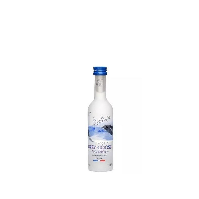 Miniatura Vodka Grey Goose 50 ml